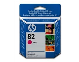 HP 82 (Volume: 28ml) Magenta Ink Cartridge