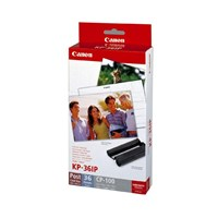 Canon KP-36IP Ink/Paper Pack containing 1 x KP-36IP + Photo Paper 4 x 6 inch (36 Sheets)