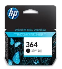 HP 364 (Black) Ink Cartridge (Yield 250 Pages)