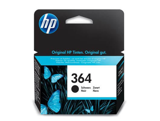 HP 364 (Yield: 250 Pages) Original Ink Cartridge (Black)