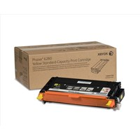 Xerox 106R01390 (Yield: 2,200 Pages) Yellow Toner Cartridge