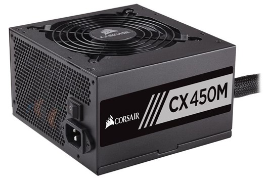Corsair CX450M 450W Modular 80+ Bronze PSU