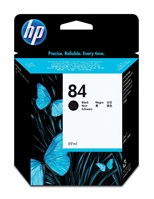 HP 84 (69ml) Black Ink Cartridge (Yield 1,500 Pages) for HP DesignJet 130
