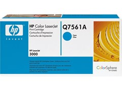 HP 314A Cyan Print Cartridge (Yield 3,500 Pages) Cartridge with ColorSphere Toner for Colour LaserJet 3000