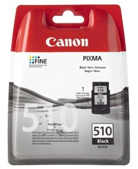 Canon PG-510 (Black) Ink Cartridge (Blister Pack)
