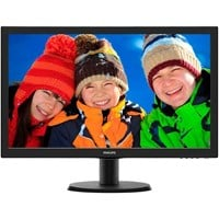 Philips 223V5LHSB/00 21.5 inch LED Monitor - Full HD, 5ms, HDMI