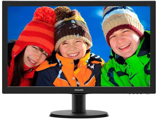 "Philips 223V5LHSB/00 21.5"" Full HD LED Monitor"