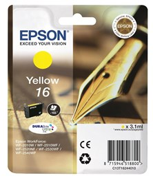 Epson T1624 Yellow Ink Cartridge (3.5ml) Non Tagged
