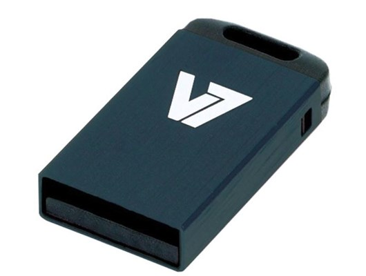 V7 Nano 4GB USB 2.0 Drive (Black)