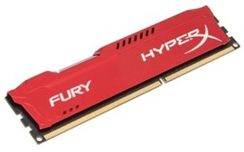 HyperX FURY Red 4GB (1x 4GB) 1600MHz DDR3 RAM