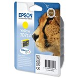 Epson T0714 Genuine Ink Cartridge - Yellow