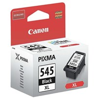 Canon PG-545XL (Black) High Capacity Ink Cartridge (Yield 400 Pages) Blister with Security for Pixma MG2250, MG2450, MG2550