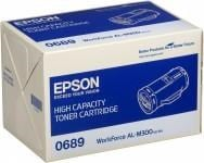 Epson 0689 High Capacity Black Toner Cartridge (Yield 10000 Pages) for WorkForce AL-M300D/AL-M300DN Laser Printers