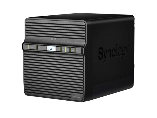 Synology DiskStation DS418j 4-Bay NAS Enclosure