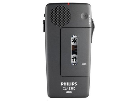 Philips Pocket Memo LFH0388 Cassette Recorder (Black)