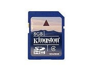 8GB Kingston SDHC Card