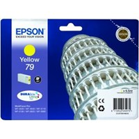 Epson Tower of Pisa 79 (Yield: 800 Pages) DURABrite Yellow Ink Cartridge