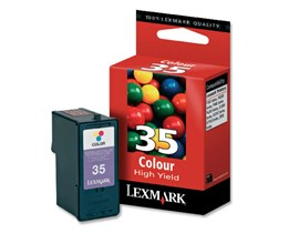 Lexmark No 35 High Yield Colour Print Cartridge