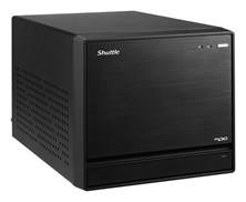 Shuttle XPC Cube SZ170R8 Barebone Personal Computer DDR4 4x16GB Intel Z170 Chipset Intel HD Graphics Socket LGA1151 no Operating System
