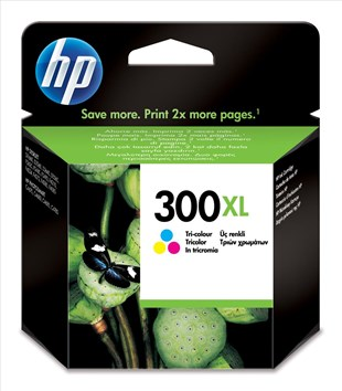 HP No.300XL Tri-colour Ink Cartridge with Vivera Inks
