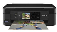 Epson Expression Home XP-432 (A4) Colour Inkjet Wireless All-in-One Printer (Print/Copy/Scan) 6.8cm Colour Touch Panel 33ppm (Mono) 15ppm (Colour) 38 sec (Photo)