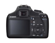Canon EOS 1100D Digital Camera 12MP with 2.7 inch LCD Monitor Black