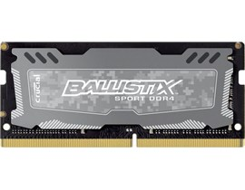 Crucial Ballistix Sport LT 16GB Memory Module PC4-19200 2400MHz DDR4 Unbuffered Non-ECC CL16 260-pin SO-DIMM