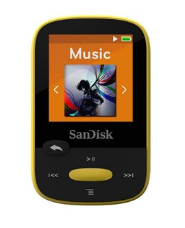 SanDisk Clip Sport (8GB) MP3 Player (Yellow)