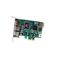 StarTech.com 4 Port PCI Express Low Profile High Speed USB Adaptor Card