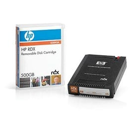 HP 500GB RDX Removable Disk Cartridge