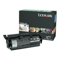 Lexmark Black High Yield Return Program Print Cartridge (Yield 25,000 Pages) for T650/T652/T654