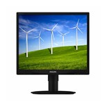 Philips (19 inch) LCD Monitor with SmartImage LED Backlight 1280x1024 (Black)