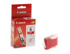 Canon BCI-6R (Red) Ink Tank for PIXMA iP8500/Bubble Jet i990/i9950 Printers