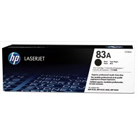 HP 83A (Yield: 1,500 Pages) Black Laser Toner Cartridge