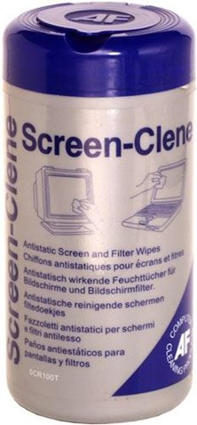 AF Screen-Clene Anti-Static Cleaning Wipes