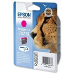 Epson T0713 Genuine Ink Cartridge - Magenta