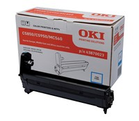 OKI 43870023 (Yield: 20,000 Pages) Cyan Imaging Drum