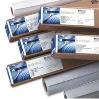 HP (A1) Coated Paper on a Roll 90gsm (White) for DesignJet