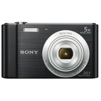 Sony Cyber-shot W800 (20.1MP) Digital Camera 5x Optical Zoom 2.5 inch LCD Screen (Black)