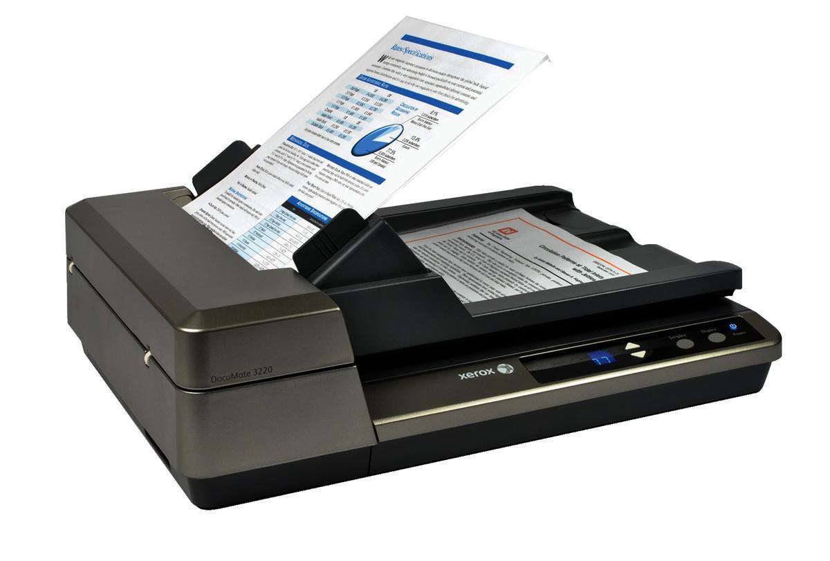 xerox documate 3220 colour scanner with software 20ppm 200dpi max rh cclonline com Xerox Travel Scanner 100 Xerox DocuMate 3220 Review