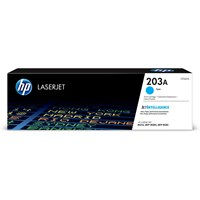 HP 203A (Yield: 1,300 Pages) Original LaserJet Toner Cartridge (Cyan)