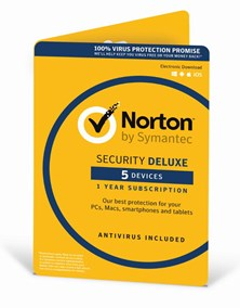 Norton Security Deluxe (3.0) 1 User (5 Devices) 12 Months Security Software Licence