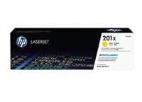 HP 201X (Yield: 2,300 Pages) High Yield Yellow Toner Cartridge