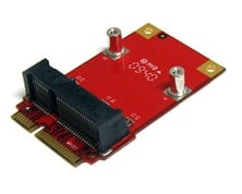 StarTech.com Half Size to Full Size Mini PCI Express Adaptor
