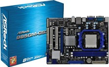 ASRock 985GM-GS3 FX AMD Socket AM3+ Motherboard