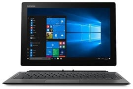 Lenovo IdeaPad Miix 520 (12.2 inch Multi-Touch) Tablet PC Core i3 (7130U) 2.7GHz 4GB 128GB SSD WLAN BT Webcam Windows 10 Pro 64-bit (Intel HD Graphics 620) Iron Grey