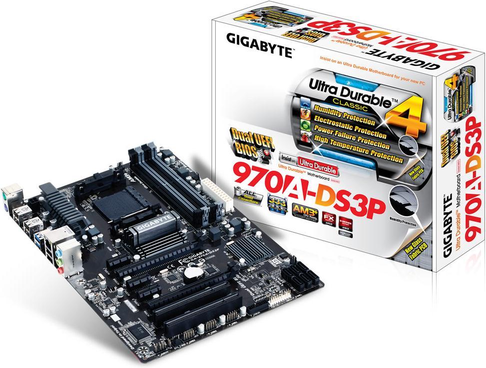 Gigabyte 970a-ds3p Amd Socket Am3  Motherboard