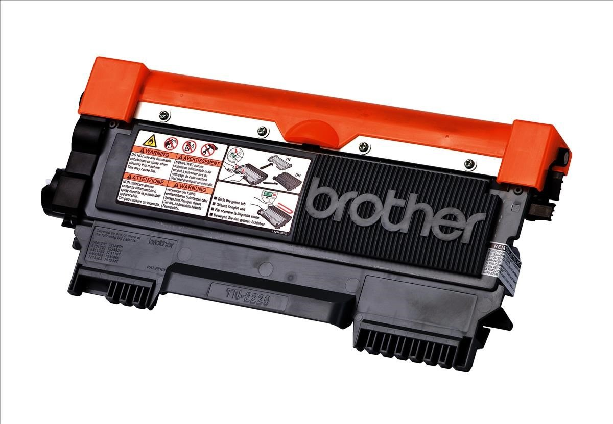 brother tn 2220 yield 2 600 pages black toner cartridge. Black Bedroom Furniture Sets. Home Design Ideas
