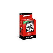 Lexmark No 36 Black Return Program Print Cartridge