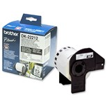 Brother P-touch DK-22212 (62mm x 15.2m) Continuous White Film Tape